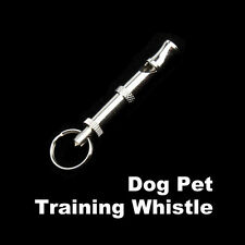 Silver Ultrasonic Sound Whistle for Dog Training