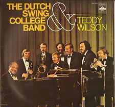 "THE DUTCH SWING COLLEGE BAND ""& TEDDY WILSON"" JAZZ LP DSC 008"