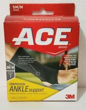 New in Box. ACE Compression Ankle Support, Support Level 1, Size SM/M (207525)