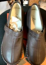 Propet Bronco Brown Catalina Leather Slip-on Loafer Shoes SIZE 6 B(M) W0274/NEW