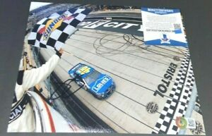 JIMMIE JOHNSON SIGNED 8X10 PHOTO NASCAR RACING WIN INDY DAYTONA 500 BAS A