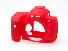 easyCover Silicone Skin Camera Armor Case to fit Canon 5D MkIII 5Ds 5DsR - Red
