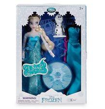 Orig. Disney - Elsa singende Puppe mit Zubehör - Die Eiskönigin - Olaf -NEU&OVP