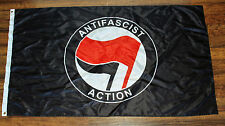 Anti-Fascist Action Flag Banner Resistance Protest Nazi & Trump ANTIFA ANTIFAS