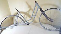 """Vintage Elgin 26"""" Women's Bicycle Frame Fork Fender Hubs Wheel MOS 123231"""