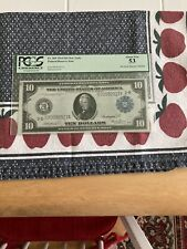 1914 $10 Federal Reserve Note Fr:909 Abiut New 53 Great Montana Collection