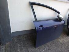 Türe vorne rechts  Seat Leon Bj07 1P blau metallic LW5U