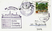 Polarpost CCCP: MS ESTONIA - XXV CAE - Station Druschnaja - 1979