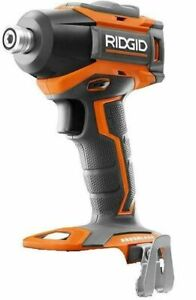 New RIDGID R86038 18-VOLT COMPACT CORDLESS BRUSHLESS 3 SPEED IMPACT DRIVER