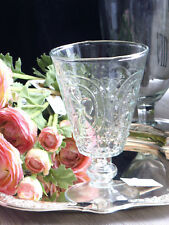 6 Gläser Glas Trinkgläser Wassergläser Barock Stil Shabby  Vintage Brocante 16cm