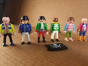 Lot Vintage Playmobil Figures pirates