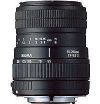 Sigma Zoomobjektiv Kameraobjektive mit Autofokus für Nikon