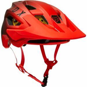 New Fox Racing Men's MTB Mountain Biking Cycling SPEEDFRAME MIPS HELMET, Flo Red