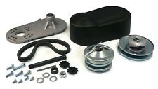 Torque Converter Clutch Kit with Drive Belt, Plastic Assembly Cover for Go Karts