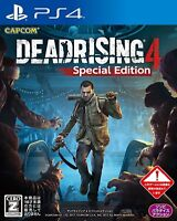 USED PS4 Dead Rising 4 Special Edition JAPAN Sony PlayStation 4 import game