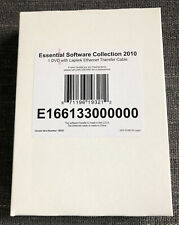 Essential Software Collection 2010 1 DVD With Laplink Ethernet Transfer Cable