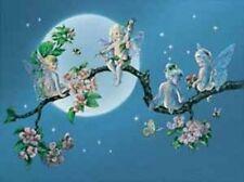 Beautiful Matted Sweet Blossom Fairy Foil Art Print~Affordable Art~8x10~Fantasy