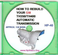 "How to Rebuild the GM TH350 / TH400 Automatic Transmission Video Manual ""DVD"" !"