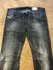 Diesel Darron Men's Jeans 008UP Slim Tapered Faded Black 30 x 32 $225