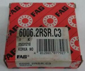 New FAG 6006 C3 Bearing (14I4-085)