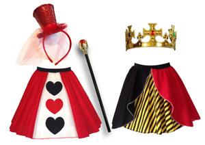 Women's Halloween Costume QUEEN OF HEARTS / Fancy Dress Costumes