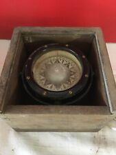 """ANCIENNE GRANDE BOUSSOLE COMPAS MARINE """" VINTAGE COMPASS """"0059"""""""