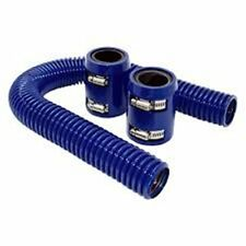 NOS 15220NOS Stainless Steel 18 Braided Hose with 4AN Blue Fittings