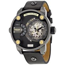 Diesel The Daddies Black Dial Automatic Men's Watch DZ7364