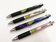 4 Barrel Colors Set Uni-Ball Jetstream 4+1 Multi Ballpoint Pen + Sharp 0.38mm UF