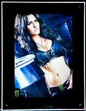 Monster Energy, LED Leuchtreklame, Display, Poster, Acryl