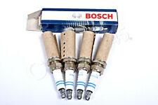BOSCH Spark Plug SET x4 pcs Fits LANCIA NISSAN PEUGEOT RENAULT 1.0-4.8L 1997-