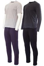 TENDEGREES Herren Pyjama Schlafanzug Nachtwäsche 2-tlg Schlafhose + Oberteil
