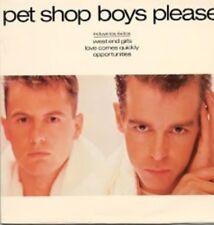 Pet Shop Boys Please Vinyl LP 1986 Spanish Version