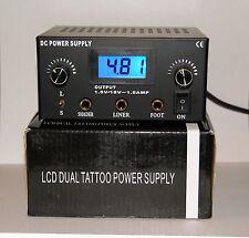 Dual Machine Integrated Tattoo 2 Gun Power Supply