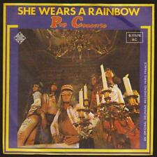 "7"" POP CONCERTO She wears a rainbow/Physical LOVE (PROMO) TELEFUNKEN 70`s"