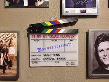 "Authentic Movie Clapper SEAN PENN Directed 2001 ""DEAD FLOWER"""