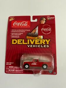 Johnny Lightning Coca Cola Delivery-1962 Studebaker-Rubber Tires