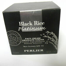 Perlier Black Rice Platinum Absolute Youth Face Cream w/ SPF 15, 1.7oz