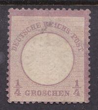 Germany / Deutsches Reich 1872 Mi. Nr. 16, 1/4 Groschen Large Brustschild MNG