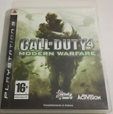 CALL OF DUTY 4 MODERN WARFARE PS3 PLAYSTATION 3 ITALIANO SPED GRATIS SU+ACQUISTI
