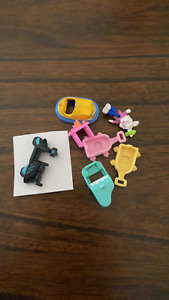 Vintage Polly Pocket Accessories and Dolls