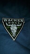 W:O:A wacken Open Air 2011 Aufkleber full Metal Bag