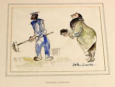 John GROTH | large ALBUM of 17 ORIGINAL sketches | RUSSIA London horse racing