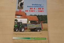 158487) Strautmann Universalstreuer BE 4 -9 1201 -1401 Prospekt 01/2012