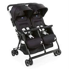 Chicco OHlalà Twin Geschwisterwagen von Geburt bis 15 kg, Kinderwagen für Zwilli
