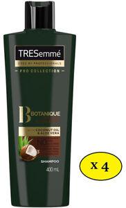 TRESemmé Procollection Botanique Nourrit Et Replenish Shampooing 400ml (Lot De 4