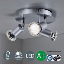 LED Decken-Lampe Deckenleuchte Spot-Leuchte 3-flammig GU10 Küche Büro Wohnzimmer