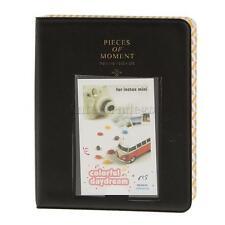 Memo Photo Album 64 Photos Holder for Fujifilm INSTAX MINI film paper Black