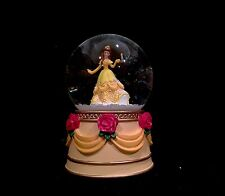 Department 56 Disney Snow Globe- Belle Beauty & the Beast! Disney Princess-NIB