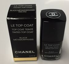 CHANEL LE TOP COAT Tinted BLACK METAMORPHOSIS 13ml./0.4oz. Limited Edition!